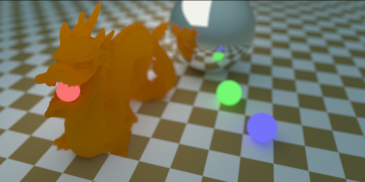 Depth of Field Dragon